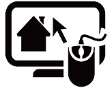 Icon showing online home inspection report